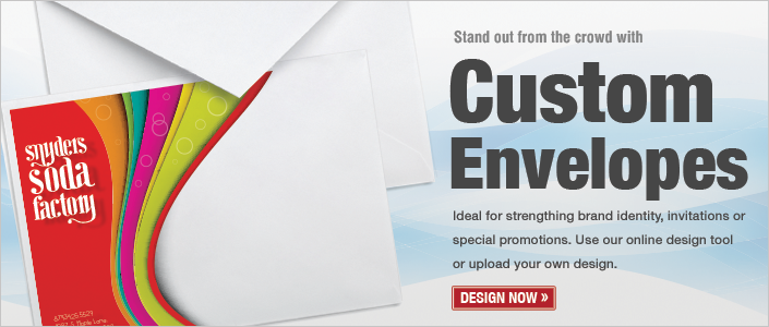 Order your custom Envelopes today!